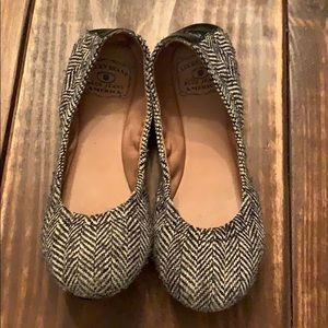 Lucky Brand Blue Jeans America Flats